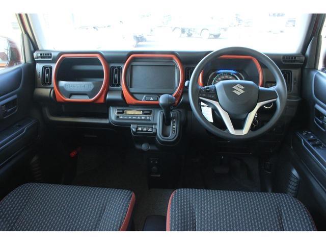 ハイブリッドG 4WD 届出済未使用車 マイルドハイブリッド 衝突被害軽減ブレーキ スマートキー アイドリングストップ クルーズコントロール シートヒーター 4WDシステム 車線逸脱警報機能 横滑り防止装置(6枚目)