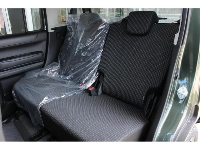 ハイブリッドG 届出済未使用車 セーフティサポート非装着車 マイルドハイブリッド スマートキー アイドリングストップ 前席シートヒーター 横滑り防止装置 オートライト パワーウインドウ 電動式格納ドアミラー(17枚目)
