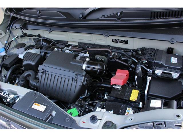 ハイブリッドG 届出済未使用車 セーフティサポート非装着車 マイルドハイブリッド スマートキー アイドリングストップ 前席シートヒーター 横滑り防止装置 オートライト パワーウインドウ 電動式格納ドアミラー(21枚目)