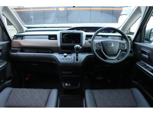 クロスター・ホンダセンシング 登録済未使用車 4WD 両側電動スライドドア LEDヘッドライト 衝突軽減ブレーキ スマートキー アイドリングストップ ETC クルーズコントロール バックカメラ シートヒーター ワイパーディアイサー(4枚目)