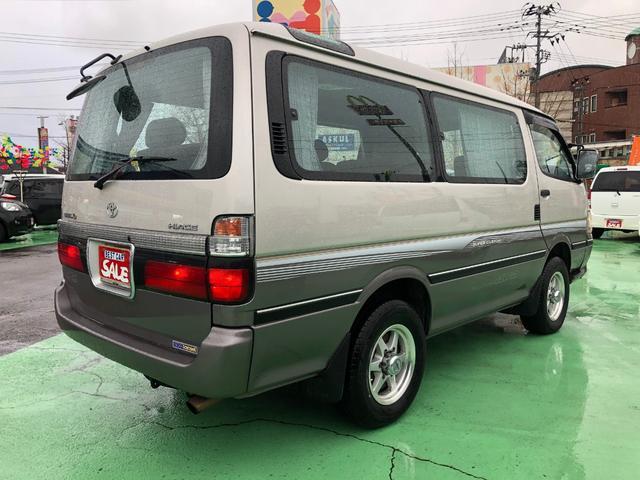 「トヨタ」「ハイエース」「ミニバン・ワンボックス」「新潟県」の中古車7