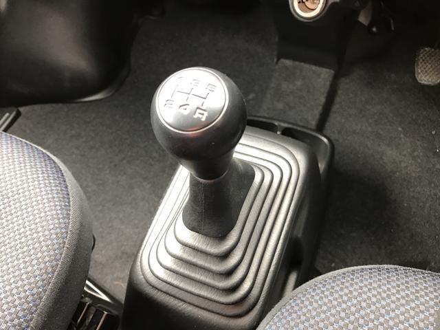 ベースグレード 4WD 5速マニュアル CD フルフラット(13枚目)