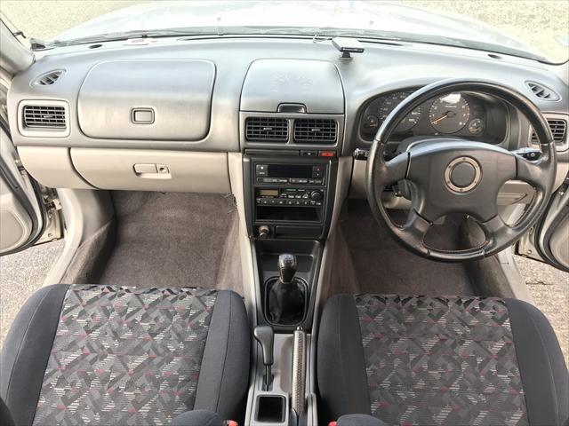 スバル フォレスター S/20 4WD  5速マニュアル