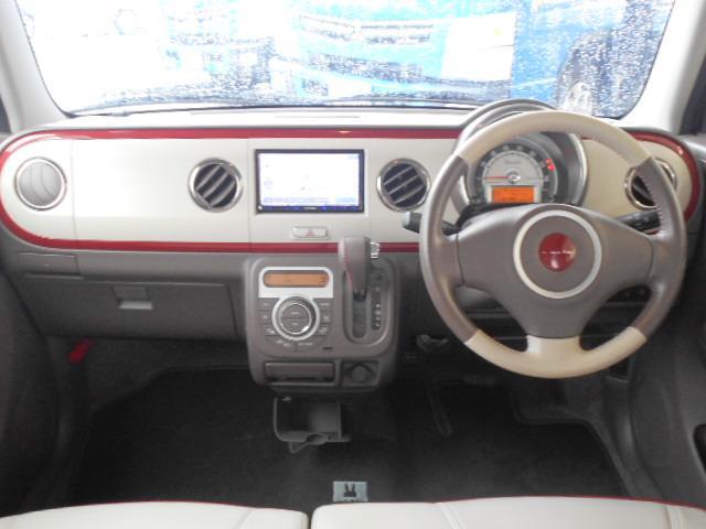 スズキ アルトラパンショコラ 4WD X 社外SDナビ