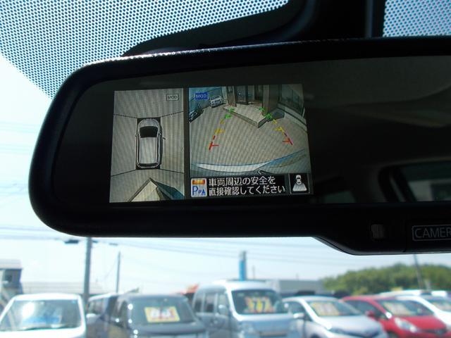 アラウンドビューモニターで駐車も楽々!コーナーセンサーも付いています!
