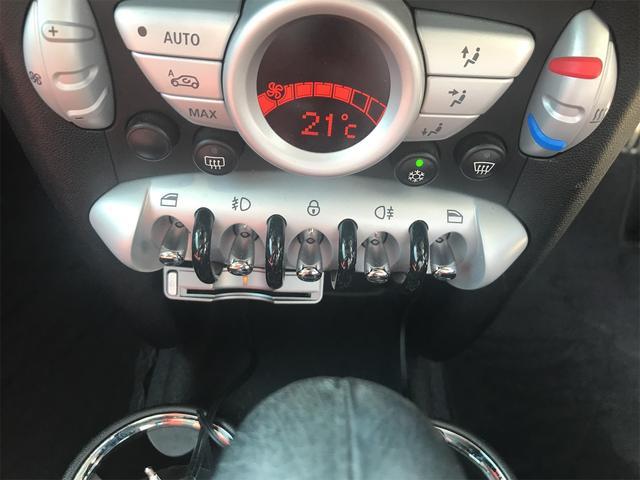 クーパーS フルセグナビ プッシュスタート 17インチアルミ オートエアコン ETC(30枚目)