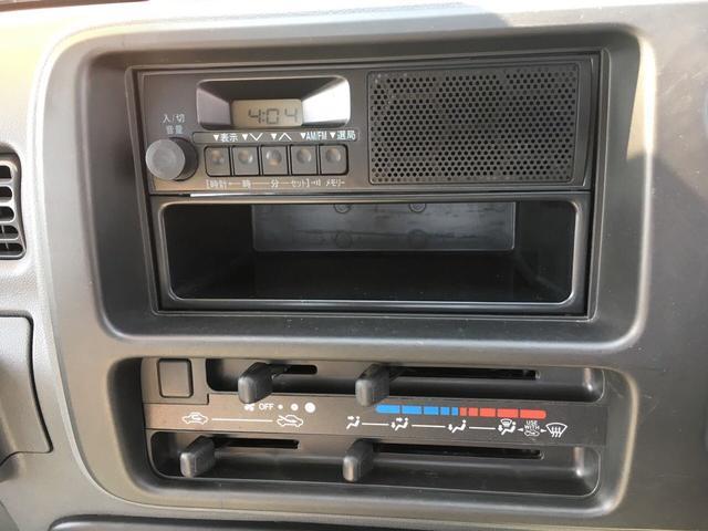 ダイハツ ハイゼットトラック スペシャル 4WD 5速MT ワンオーナー パワステ
