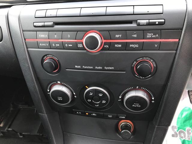 マツダ アクセラスポーツ 15C 2WD ワンオーナー キーレス CDデッキ