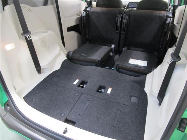 サードシートを格納すると、広くてフラットなカーゴスペースが出現します♪