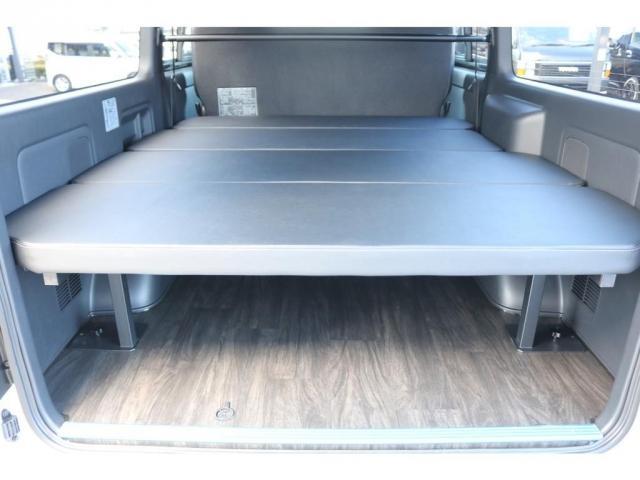 スーパーGL ダークプライムII ロングボディ オリジナル床張り ベットKIT カロッツェリア製8インチSDナビTV ETC 寒冷地仕様(7枚目)