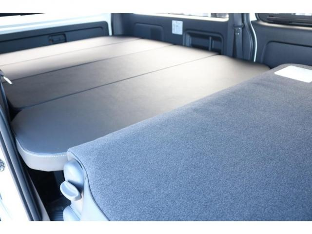 スーパーGL ダークプライムII ロングボディ オリジナル床張り ベットKIT カロッツェリア製8インチSDナビTV ETC 寒冷地仕様(13枚目)