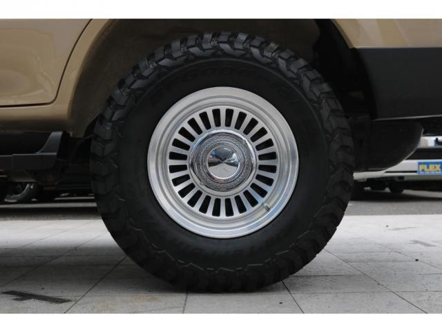 TX FLEXオリジナルカスタム Renoca AmericanClassic DEANカリフォルニア16インチAW BF Goodrich235MTタイヤ オリジナルレザー調シートカバー(10枚目)