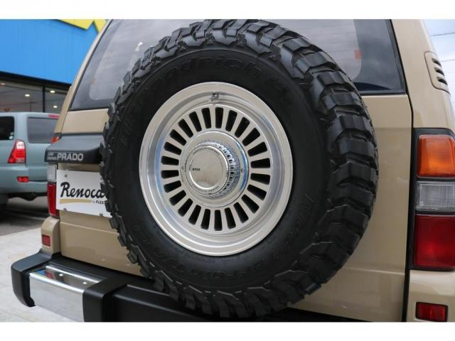 TX FLEXオリジナルカスタム Renoca AmericanClassic DEANカリフォルニア16インチAW BF Goodrich235MTタイヤ オリジナルレザー調シートカバー(13枚目)