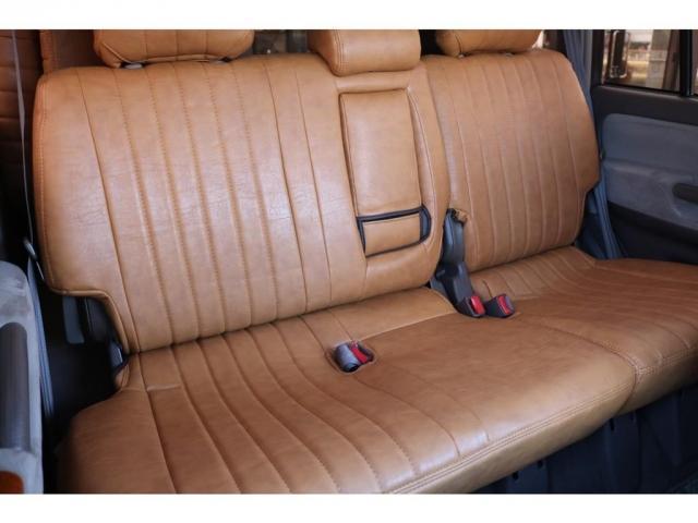 TXリミテッド ディーゼルターボ ベージュ内装 新品オリジナルレザー調シートカバー DEANカリフォルニア16インチAW オープンカントリー235MTタイヤ サンルーフ ルーフレール(6枚目)