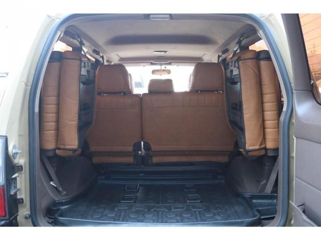 TXリミテッド ディーゼルターボ ベージュ内装 新品オリジナルレザー調シートカバー DEANカリフォルニア16インチAW オープンカントリー235MTタイヤ サンルーフ ルーフレール(7枚目)
