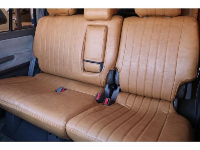 TXリミテッド ディーゼルターボ ベージュ内装 新品オリジナルレザー調シートカバー DEANカリフォルニア16インチAW オープンカントリー235MTタイヤ サンルーフ ルーフレール(15枚目)