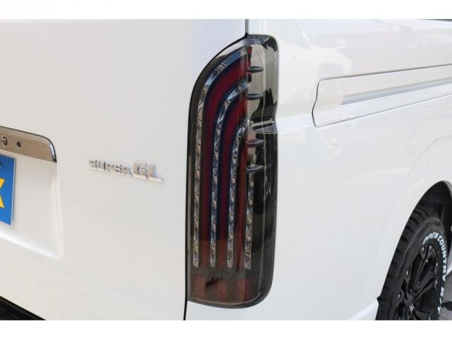スーパーGL ダークプライムII ロングボディ TRDフロントスポイラー マッドフラップ SDナビTV ETC車載器 オリジナルベットKIT 煌LEDテールランプ 同色フェンダーミラー(15枚目)