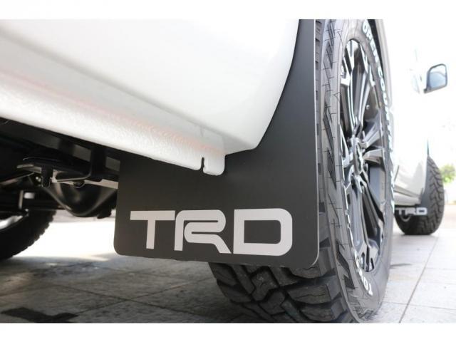 スーパーGL ダークプライムII ロングボディ TRDフロントスポイラー マッドフラップ SDナビTV ETC車載器 オリジナルベットKIT 煌LEDテールランプ 同色フェンダーミラー(18枚目)
