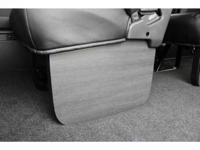 GL ライトカスタム車 3No 10人乗り レザー調シートカバー ファブレスXR-6アルミ 玄武ローダウンブロックKIT 木目調インテリアパネル オリジナルオーバーフェンダー オリジナルリップスポイラー(16枚目)