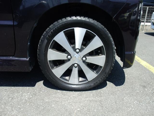純正14インチアルミホイール タイヤ残量有りませんので納車時に当社指定サマータイヤに交換致します。