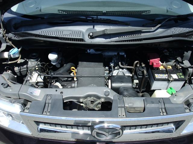 エンジンルーム内 K6A ターボ タイミングチェーン式