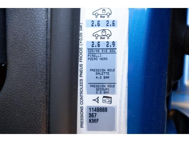 GTi GTi 1600 ターボ 6速マニュアル 2WD 純正18インチアルミホイール 社外HDDナビ 地デジTV ETC キーレスエントリー パノラミックガラスルーフ(61枚目)