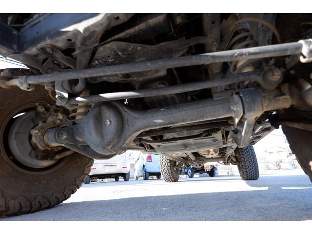 SXワイド AT 4WD ディーゼルターボ リフトアップ 社外メモリーナビ フルセグTV ETC タイミングベルト交換済 走行22.8万km(28枚目)