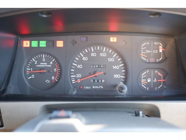 SXワイド AT 4WD ディーゼルターボ リフトアップ 社外メモリーナビ フルセグTV ETC タイミングベルト交換済 走行22.8万km(62枚目)