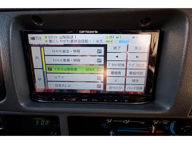 SXワイド AT 4WD ディーゼルターボ リフトアップ 社外メモリーナビ フルセグTV ETC タイミングベルト交換済 走行22.8万km(67枚目)