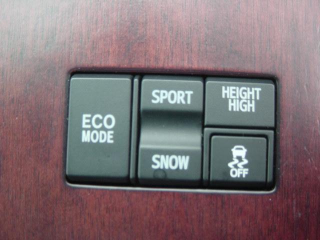 VDIM(VSC/TRC) ECOモード スポーツ&スノーモードスイッチ