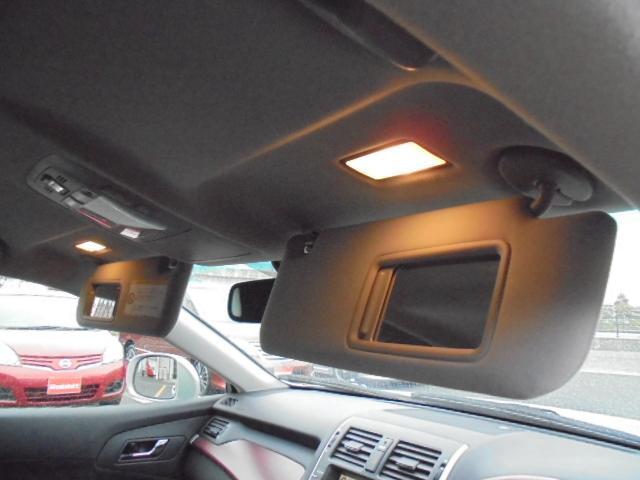 運転席&助手席照明付きサンバイザー