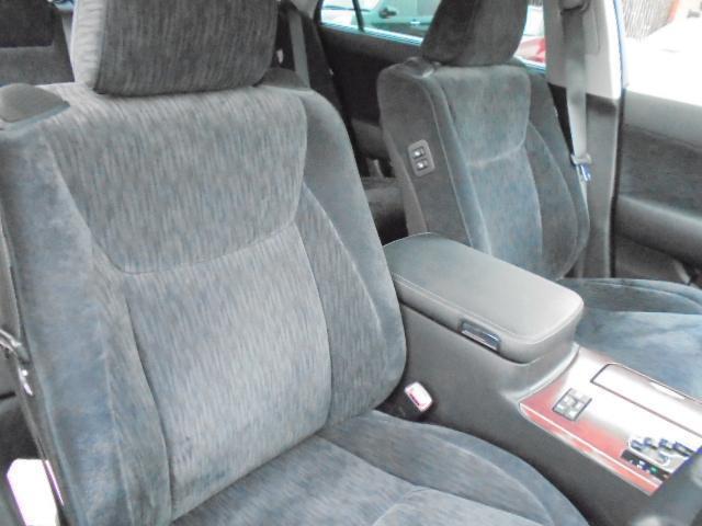 フロントシート写真です。