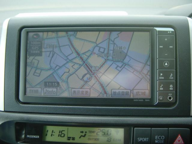 トヨタ ウィッシュ 1.8S 4WD スマートキー 純正フルセグHDDナビ