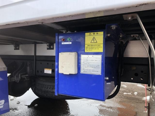 4WD 東プレ冷凍冷蔵車 庫内設定温度-30℃〜30℃(27枚目)
