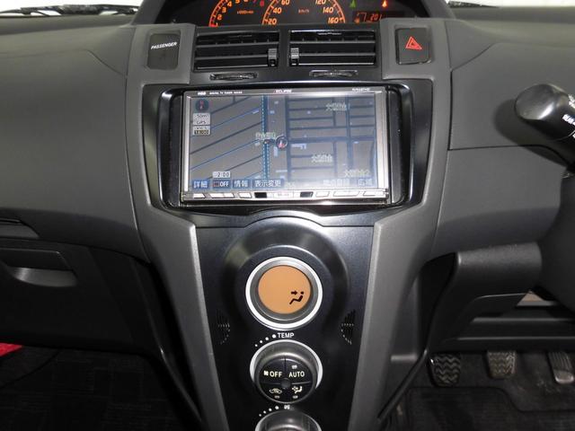 トヨタ ヴィッツ RS 5MT ローダウン 17AW HDDナビ