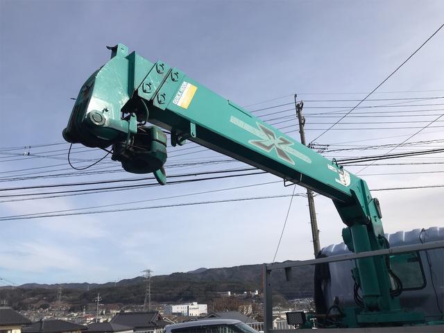 日野 クレーン付スライドセーフティー 3段ブーム 6MT(13枚目)