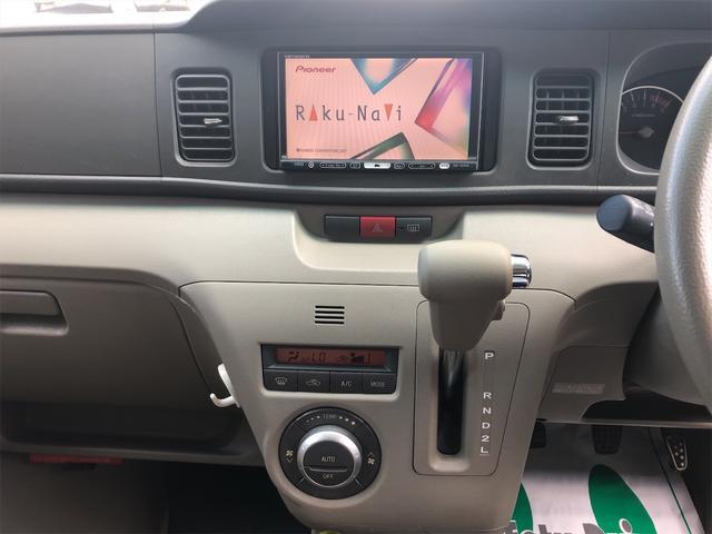 カスタムターボRS4WD HDDナビ TV タイヤ新品(8枚目)