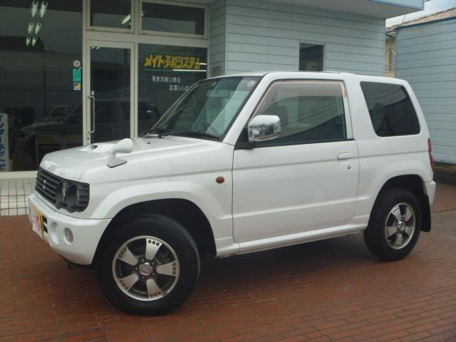 リンクスVホワイトED 4WD 純正アルミ 社外ナビ ETC(3枚目)