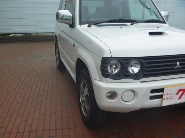 リンクスVホワイトED 4WD 純正アルミ 社外ナビ ETC(8枚目)