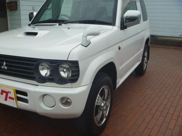 リンクスVホワイトED 4WD 純正アルミ 社外ナビ ETC(9枚目)