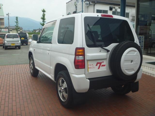 リンクスVホワイトED 4WD 純正アルミ 社外ナビ ETC(10枚目)