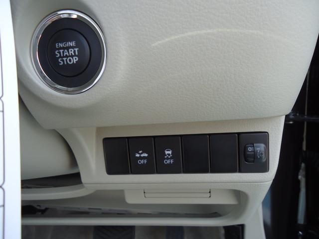 各種安全機能も充実装備。もちろんエンジン始動はプッシュスタート☆