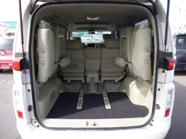 日産 エルグランド X 4WD ナビ サンルーフ 左リヤパワースライドドア
