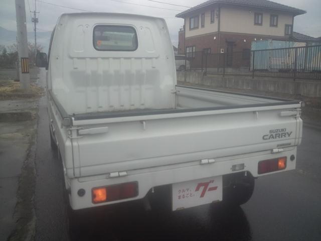 スズキ キャリイトラック KU 5速マニュアル車