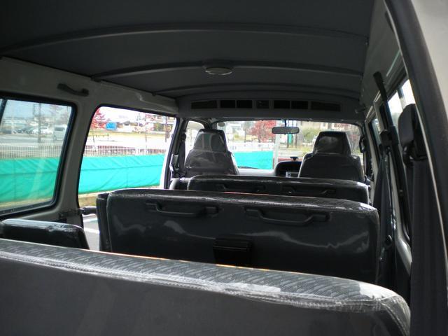 後部よりの車内です、大変綺麗に使用されてます