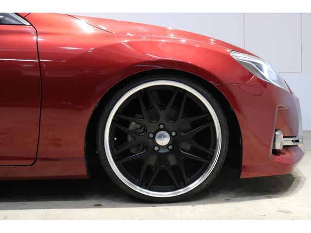 トヨタ マークX 250Gジーズ仕様新ワーク20新テイン車高調Bカメラ地デジ