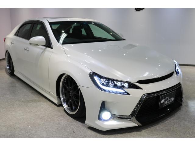 「トヨタ」「マークX」「セダン」「新潟県」の中古車17