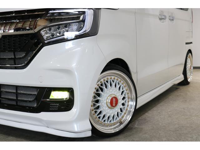 G・Lホンダセンシング 4WDケンウッド8インチナビブラックアイフルタップ車高調BBS16インチ社外マフラーETC両側パワースライドドアバックカメラLEDリフレクタークルコン(4枚目)