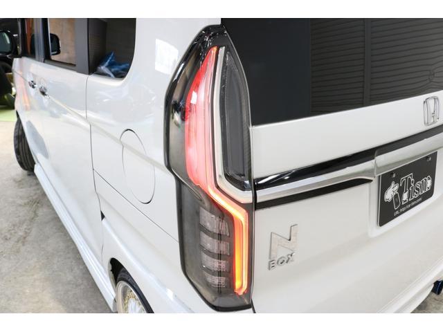 G・Lホンダセンシング 4WDケンウッド8インチナビブラックアイフルタップ車高調BBS16インチ社外マフラーETC両側パワースライドドアバックカメラLEDリフレクタークルコン(12枚目)