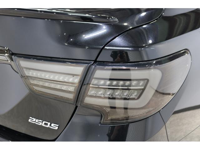 250S サンルーフモデリスタエアロ純正OP三眼ヘッド新品テインフルタップ車高調ロジャム20AWレーダークルーズミリ波レーダーシートヒーターシーケンシャルオープニングモーション付きテールバックカメラETC(35枚目)
